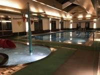 温水プールとSPA181230