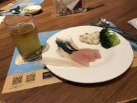刺身でビール190111