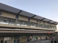高雄仮駅舎も解体中190125