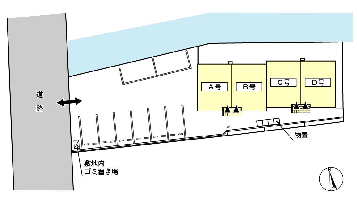 建物・駐車場配置図(予定)