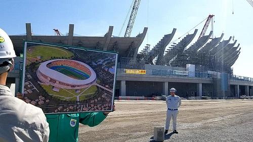 栃木県<総合スポーツゾーン>整備状況 現地調査へ!①