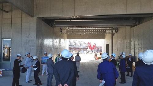 栃木県<総合スポーツゾーン>整備状況 現地調査へ!②