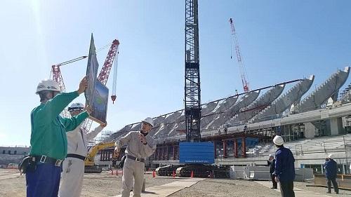 栃木県<総合スポーツゾーン>整備状況 現地調査へ!③
