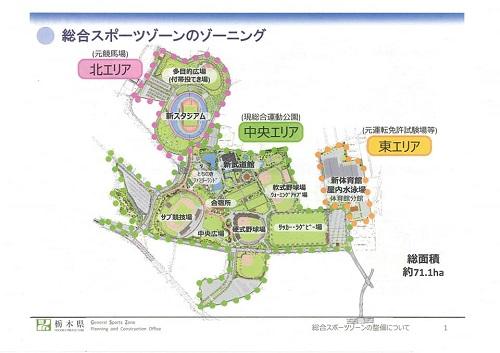 栃木県<総合スポーツゾーン>整備状況 現地調査へ!資料編02