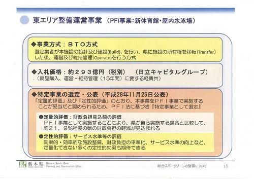 栃木県<総合スポーツゾーン>整備状況 現地調査へ!資料編16