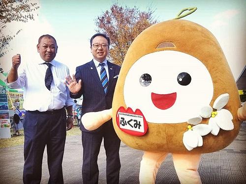上三川町<ふれあい健康福祉まつり>へ!