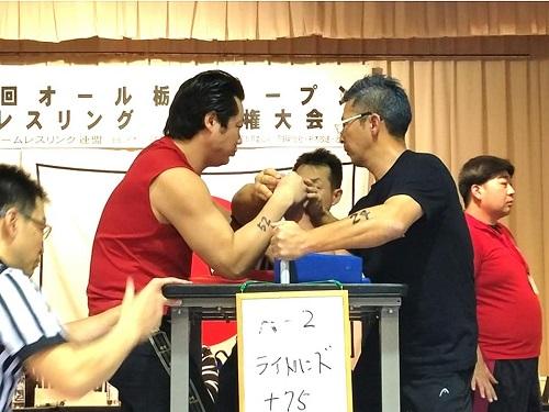 第29回 オール栃木オープン<アームレスリング選手権大会>!④