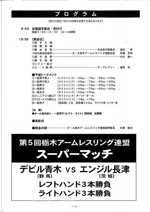 第29回 オール栃木オープン<アームレスリング選手権大会>!⑥