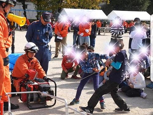 <かわち ふるさとまつり2018>と<東地区 防災訓練>!④