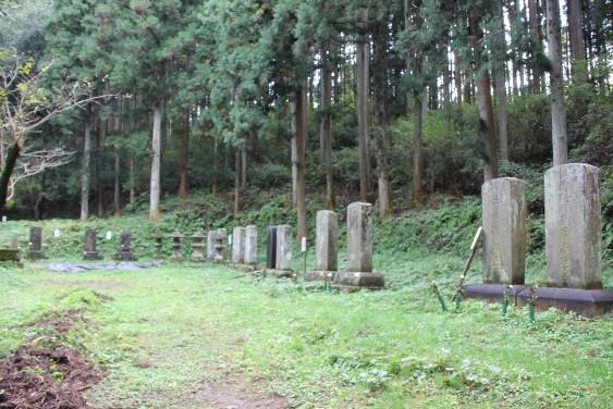 岩出山伊達家歴代の墓碑