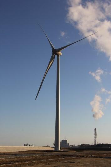 北側からの風車