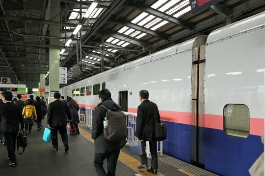 E4系@新潟駅