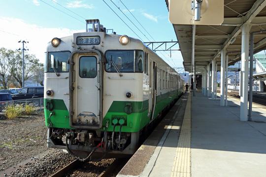 キハ40@喜多方駅