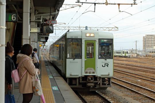 キハ111@郡山駅