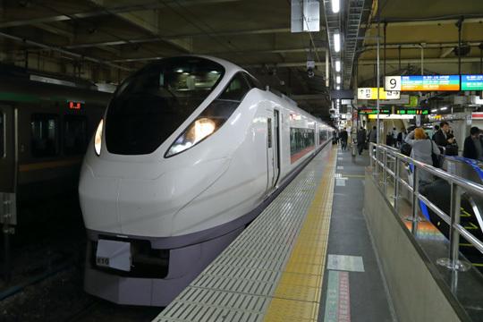 E657系@上野