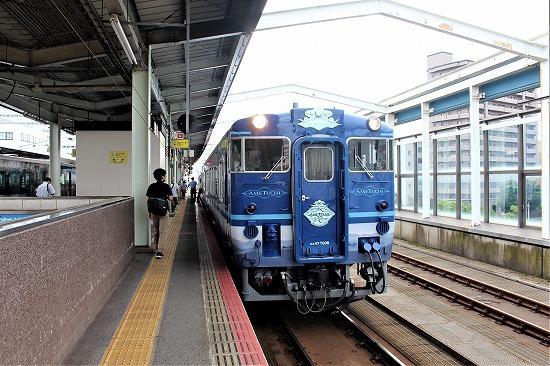①鳥取駅ホーム - コピー