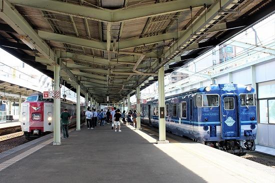 ⑰松江駅やくも