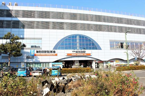 ①岸和田駅
