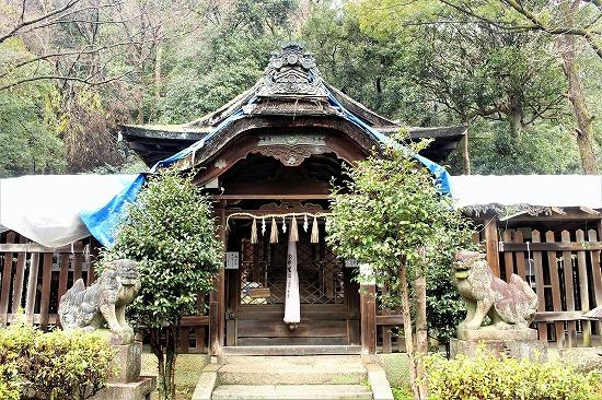 ⑫関蝉丸神社