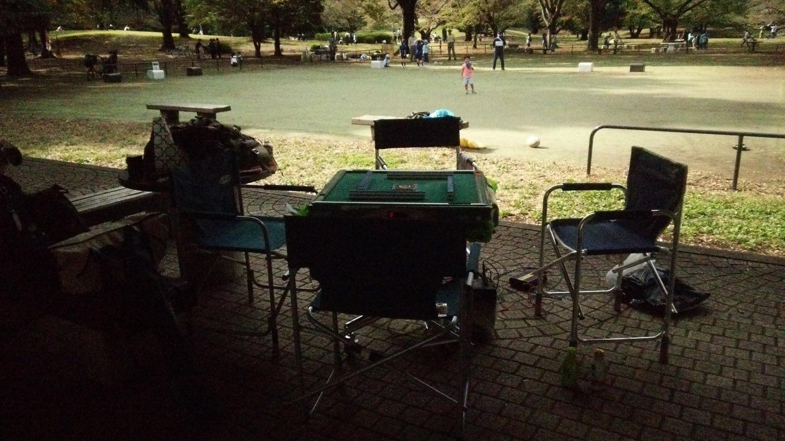 2公園麻雀