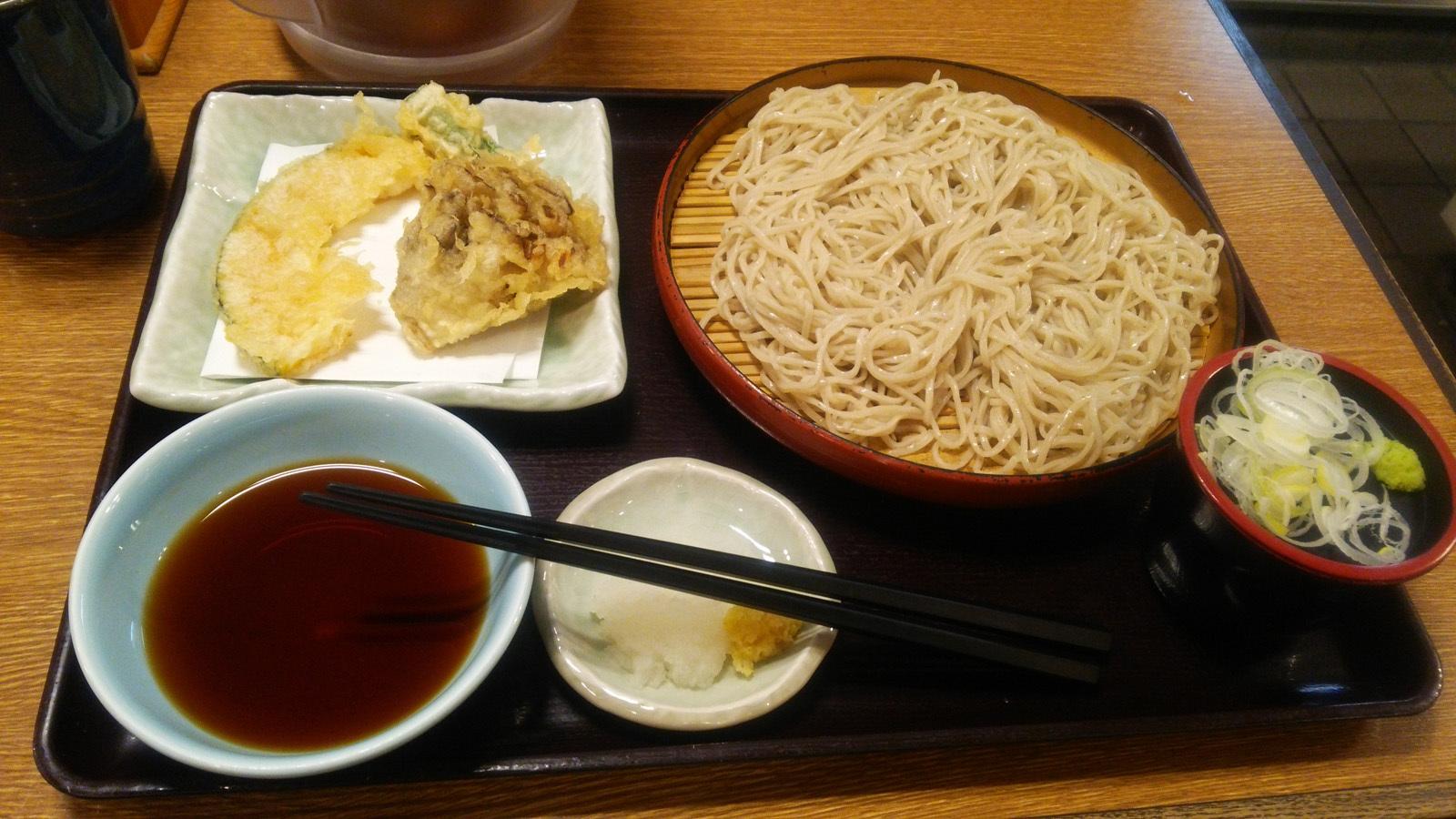 天ぷらそばDSC