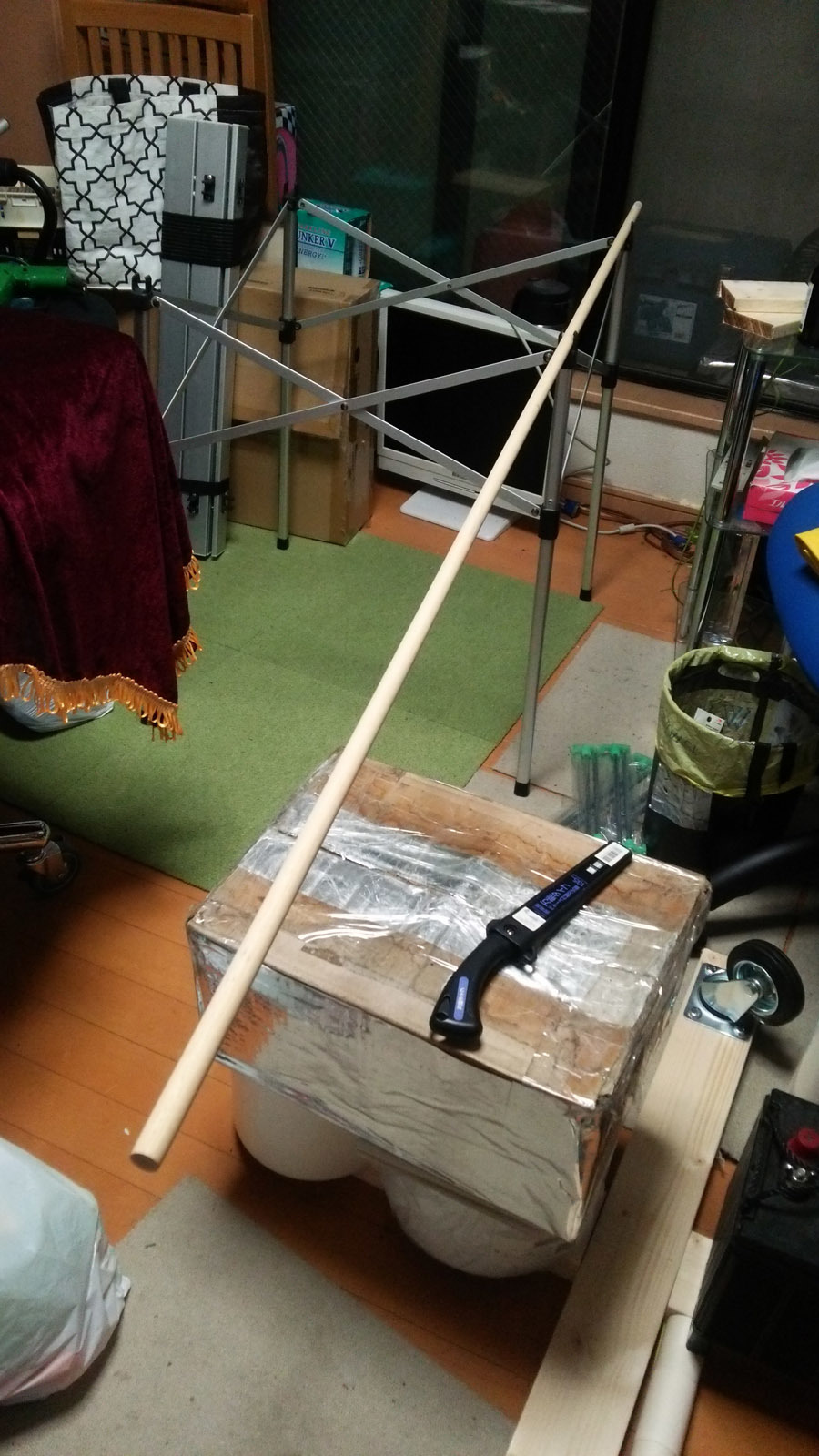 折り畳みテーブル修理