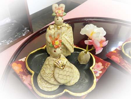 0129うさぎ陶雛
