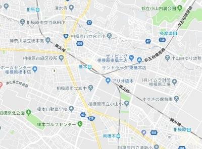 20181217町田 橋本駅地図