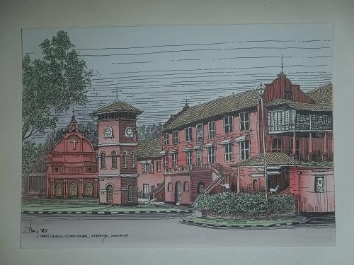 クライストチャーチ寺院(1)
