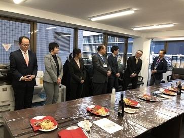 新宿新都心支社 開所式3