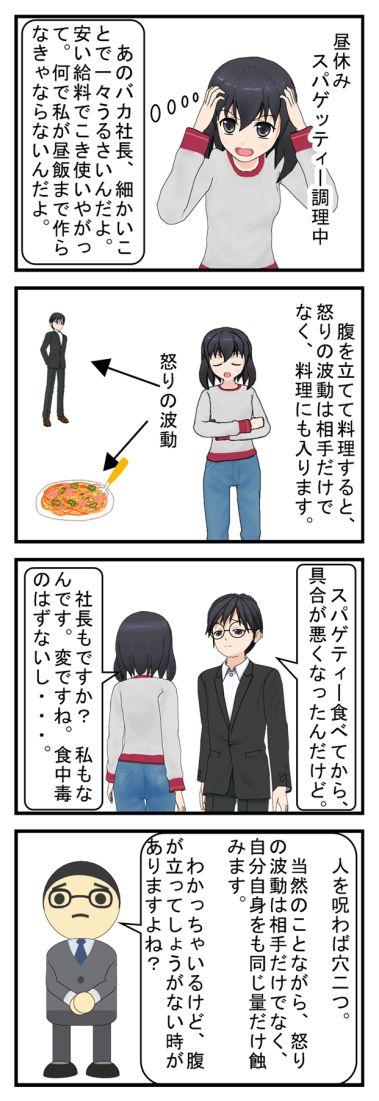 怒りのスパゲッティー ブラック企業編