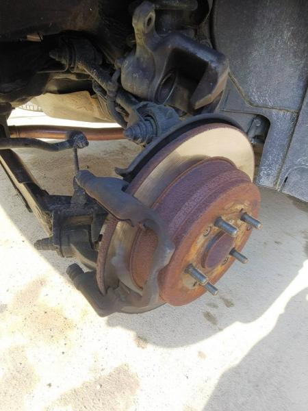 190116-ブレーキパッド交換