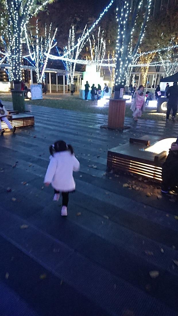 けやき広場イルミ♪2.JPG