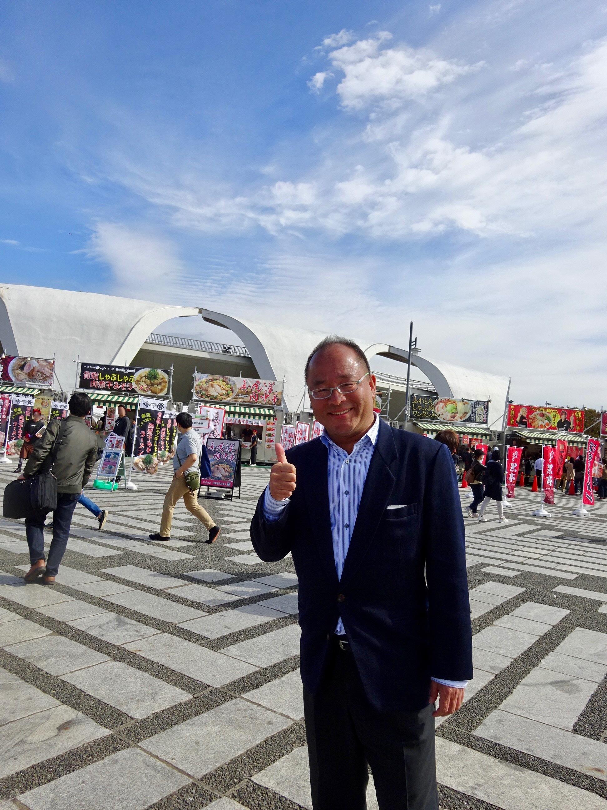 東京ラーメンショー実行委員長 大崎裕史さん