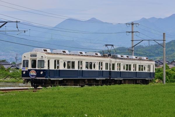 2018年5月12日 上田電鉄別所線 中野~舞田 7200系7255編成