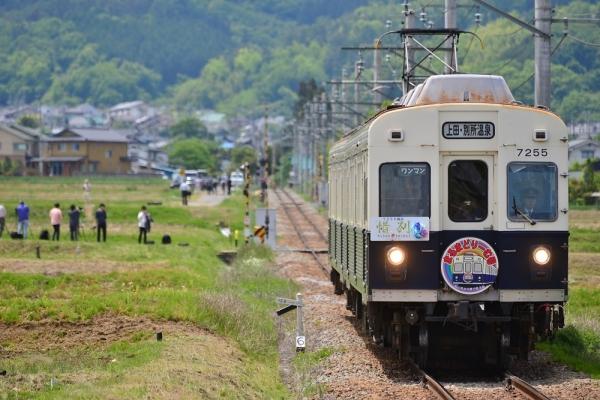 2018年5月12日 上田電鉄別所線 舞田 7200系7255編成