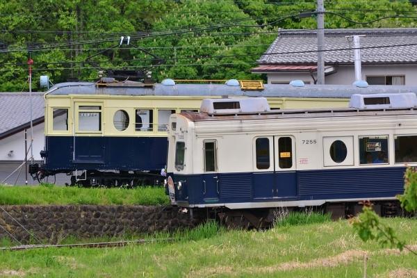 2018年5月12日 上田電鉄別所線 八木沢~別所温泉 7200系7255編成