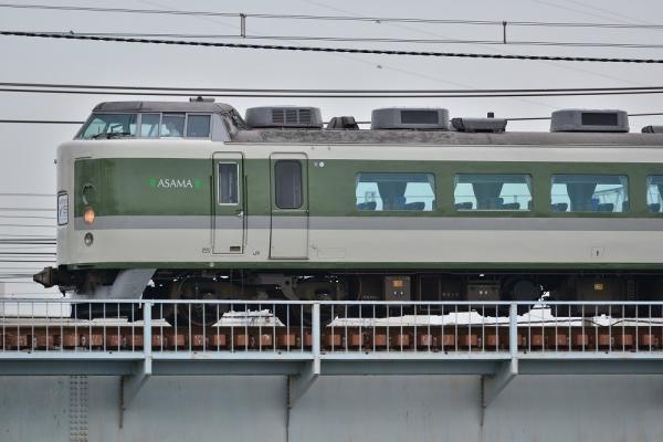 2018年5月27日 JR東日本東海道貨物線 新鶴見(信)~鶴見 189系N102編成