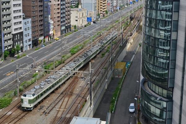 2018年5月27日 JR東日本根岸線 桜木町 189系N102編成