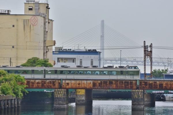 2018年5月27日 JR東日本東海道貨物線 東高島~新鶴見(信) 189系N102編成