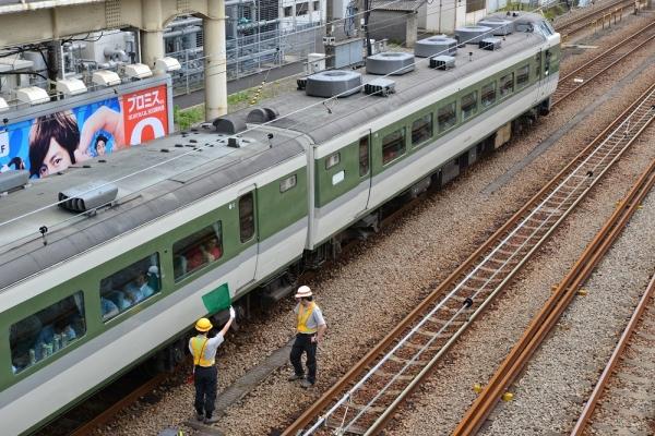 2018年5月27日 JR東日本東海道貨物線 鶴見 189系N102編成