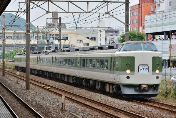 2018年5月27日 JR東日本東海道本線 平塚 189系N102編成