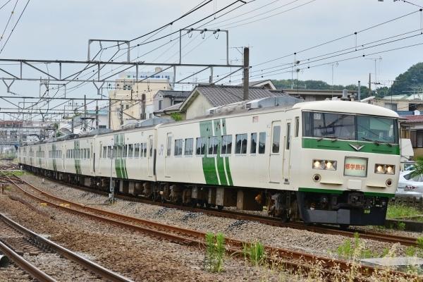 2018年5月28日 JR東日本横浜線 小机~鴨居 185系B2編成