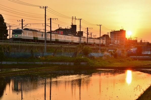 2018年6月2日 JR東日本横浜線 十日市場~中山 185系B3編成