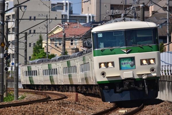 2018年6月3日 JR東日本横浜線 八王子みなみ野~片倉 185系B3編成