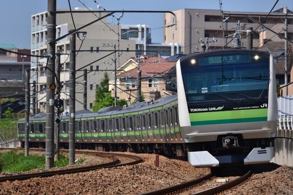 2018年6月3日 JR東日本横浜線 八王子みなみ野~片倉 E233系H002編成