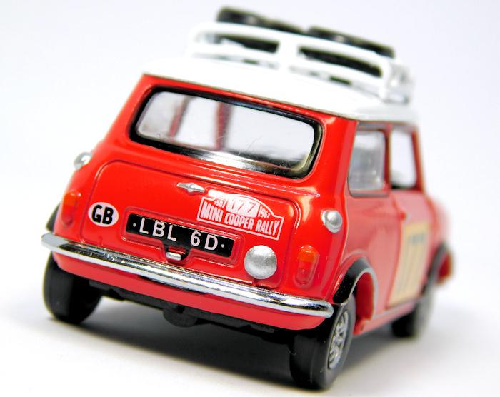 【Tiny City】No.117 ミニ クーパー モンテカルロラリー 1967 優勝車
