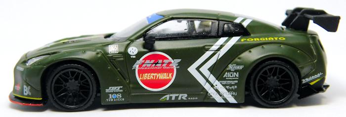 【MINI GT】1/64 LB★WORKS GT-R R35 ゼロファイター 零戦