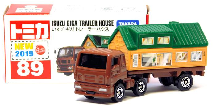 【レビュー】トミカ No.89 いすゞ ギガ トレーラーハウス