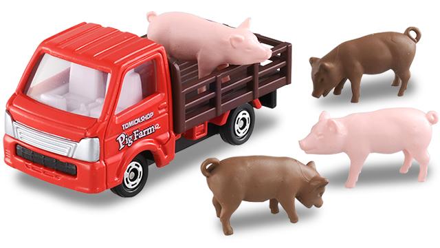 【発売情報】トミカショップオリジナル トミカ養豚場トラック